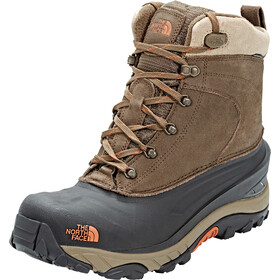 The North Face Chilkat III Boots Men Mudpack Brown Bombay Orange fce0e270f4